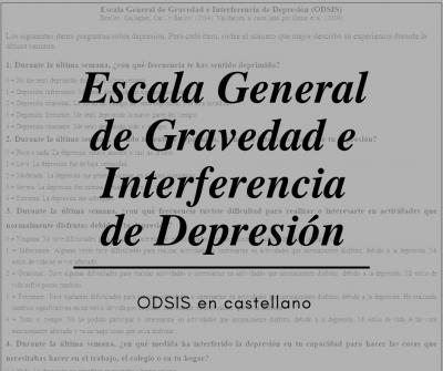 ODSIS castellano Oscura