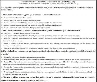 OASIS en castellano