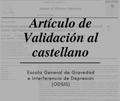 Artículo de validación ODSIS